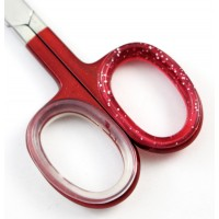 Deep Red  Nail Care Scissors